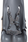 Sitter Replacement 8-point harness Gray