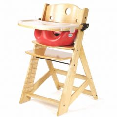 Height Right High Chair + Infant Insert - Natural