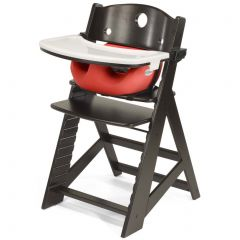 Height Right High Chair + Infant Insert - Espresso