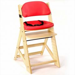 Height Right Kids Chair + Comfort Cushions - Natural