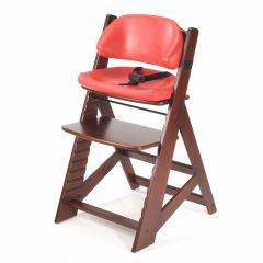 Height Right Kids Chair + Comfort Cushions - Mahogany