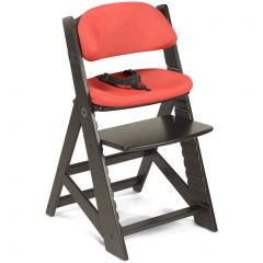 Height Right Kids Chair + Comfort Cushion - Espresso