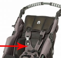EIO Push Chair - H-Harness (Pads ONLY)