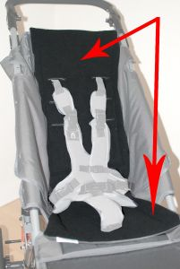 Jogger - Replacement Reversible Fabric Pad