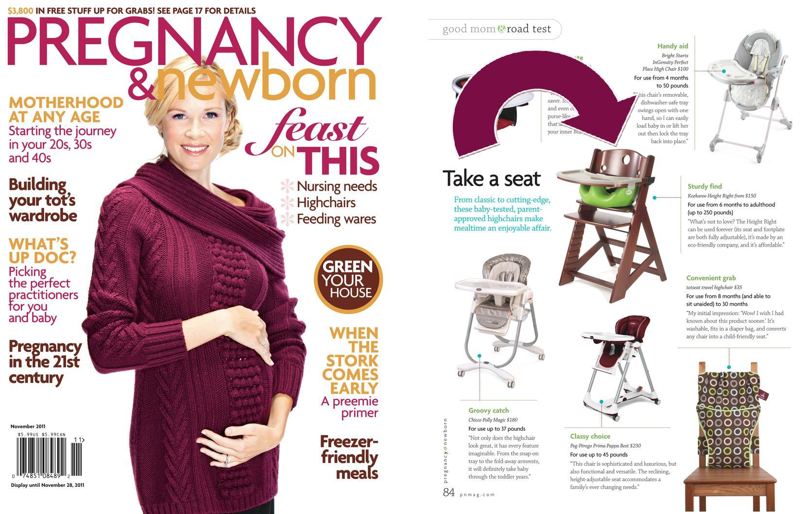Pregnancy and Newborn Nov 2011