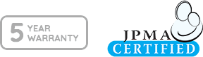 JPMA Certified, 5 Year Warranty
